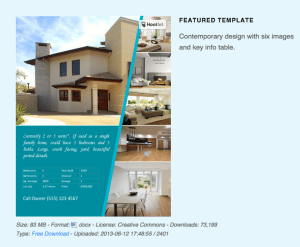 free real estate flyer templates download print today