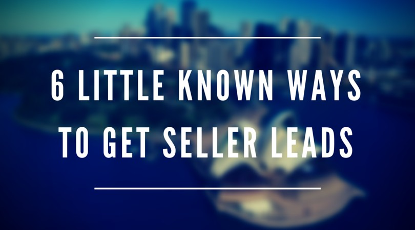 6 Little known WaysTo Get Seller Leads (2)