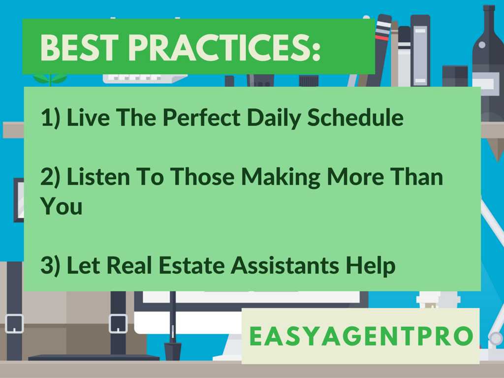 real estate agent schedule