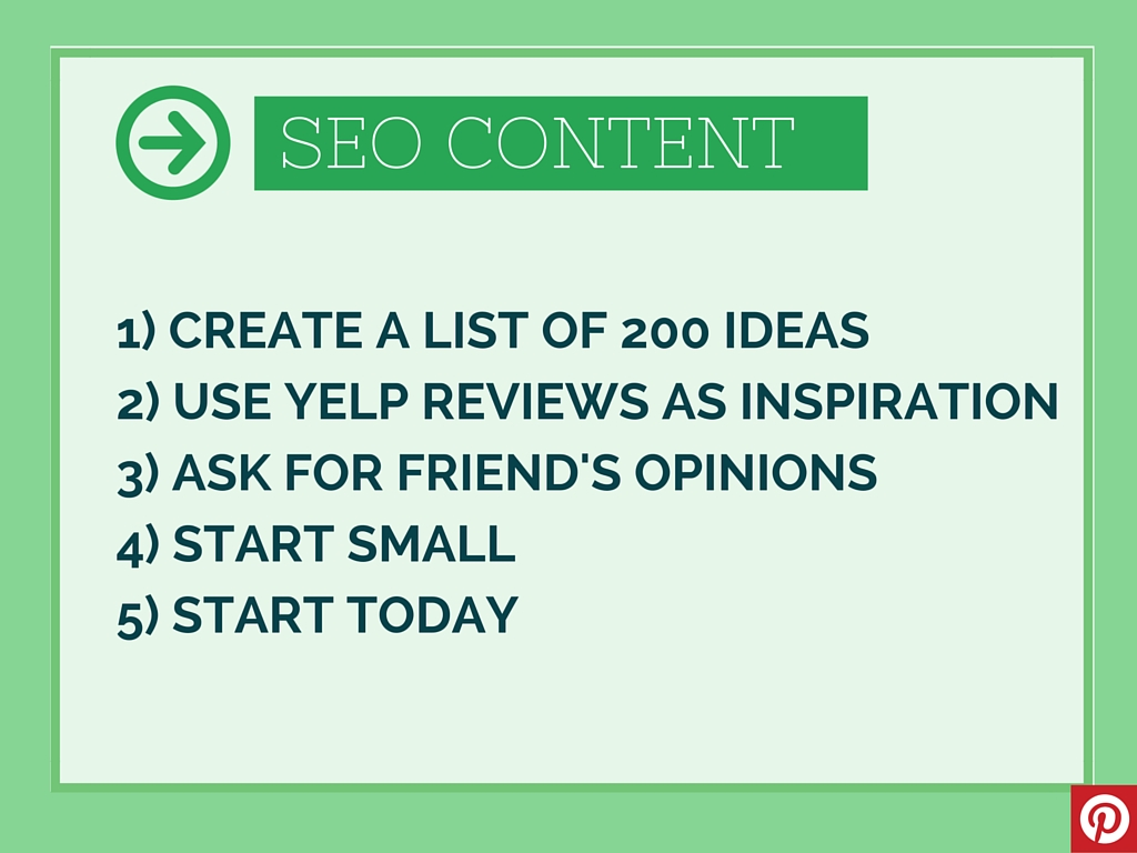 Get Page One SEO Results Even If You Live In A Boring Area