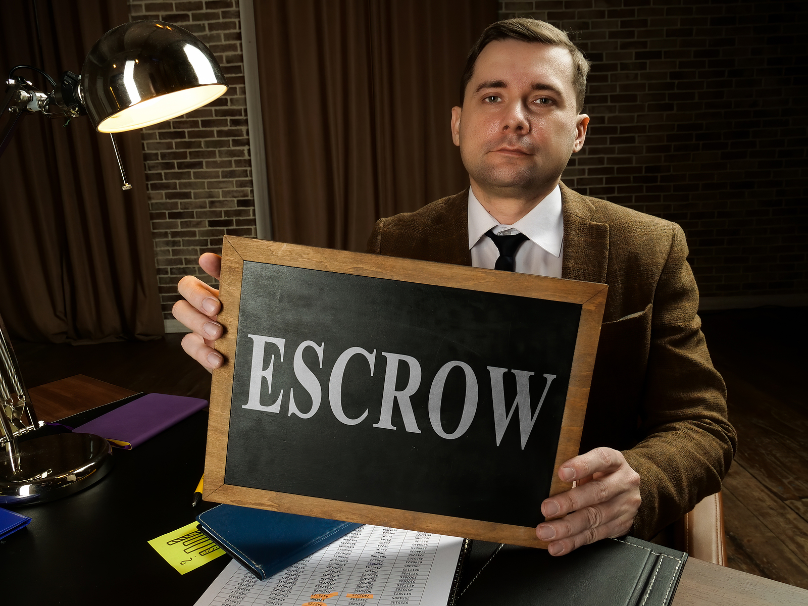 explain the escrow and title processes